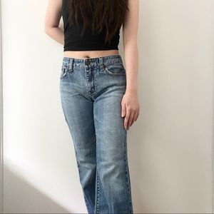 Express Mia bootcut jeans 4S
